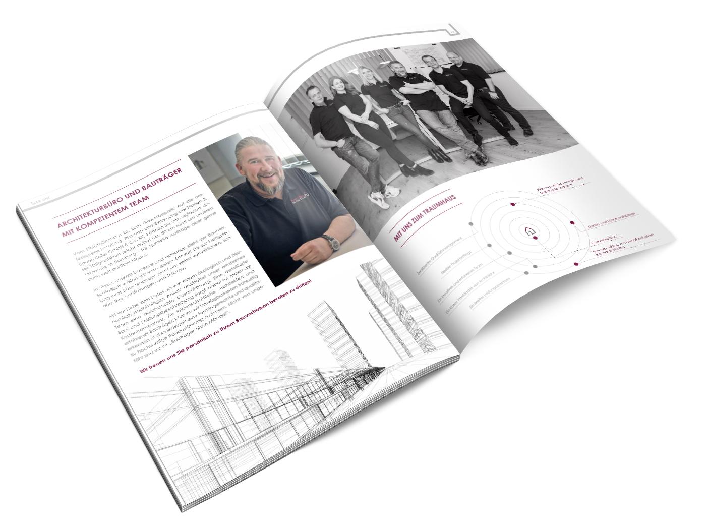 Planen & Bauen Keller GmbH & Co. KG - Imagebroschüre